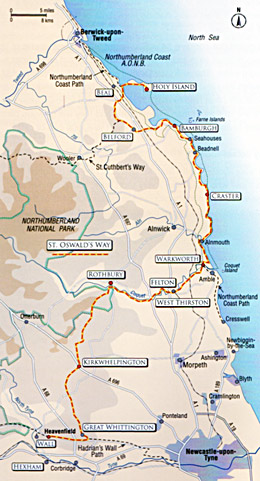 St. Oswald's Way Coastal Short Walks